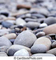 pebbles background - closeup of pebbles background