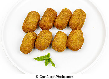 croquettes served as tapas
