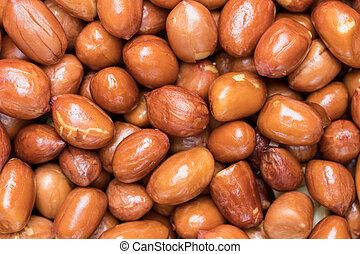 roasted peanuts for background