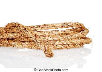 closeup of rope