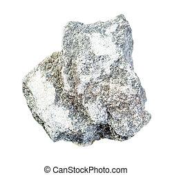 unpolished talchochlorite (soapstone) rock - closeup of ...