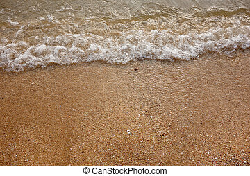 sand and small wave