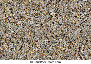 Closeup of sand, simple clean texture sandy background