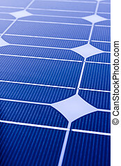 Closeup of Solar Panels,useful for alternative energy themes.