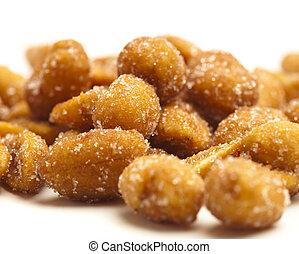 sugar peanuts