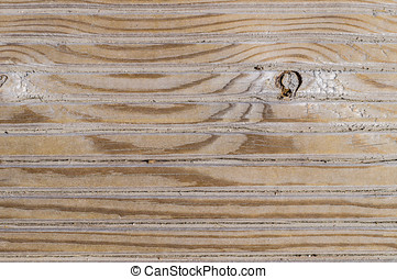 Closeup of texture of wooden surface