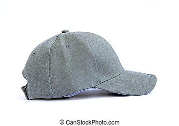 fashion gray cap