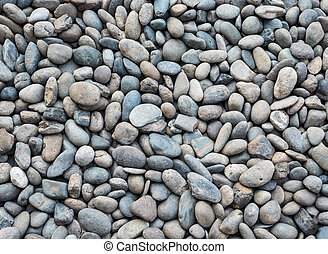 Closeup of the pebble background.