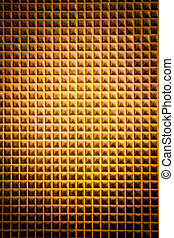 Closeup of the small golden mosaic 1