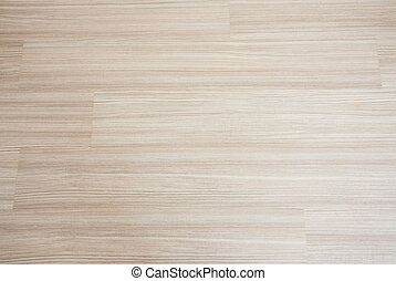 Closeup of the wooden texture on the laminate floor.