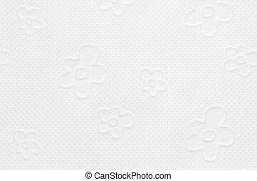 Closeup of toilet paper