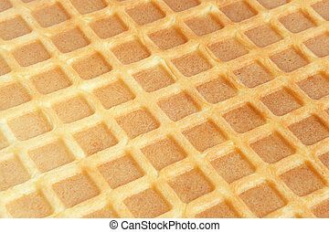 Closeup of wafer
