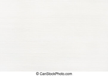 Closeup of white painted wooden plank