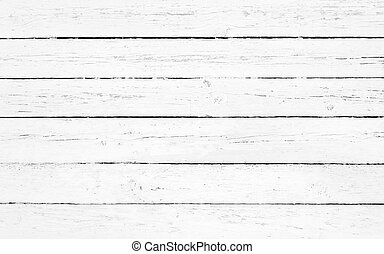 Closeup of white wooden plank