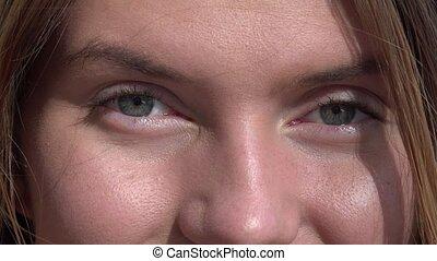 Closeup of Woman's Eyes