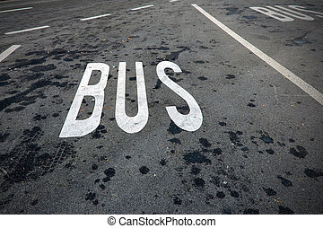 bus parking only.