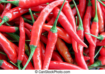 a lot of Red hot chili.