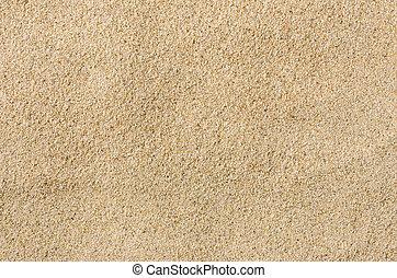 closeup, plage sable, coup