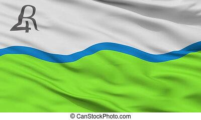 closeup, rio, cuarto, stad, vlag, argentinië