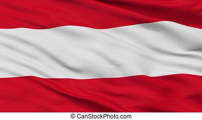 Closeup Savona city flag, Italy - Savona closeup flag, city...