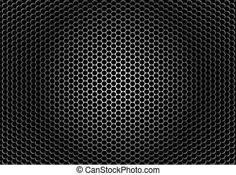 Closeup speaker grille texture - detaled textor of a speaker...