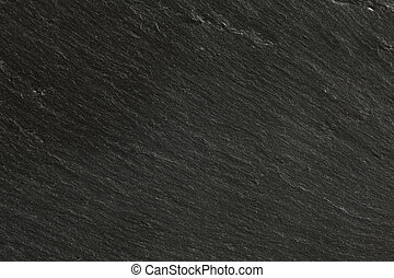 closeup texture of black slate - fine image of natural black...