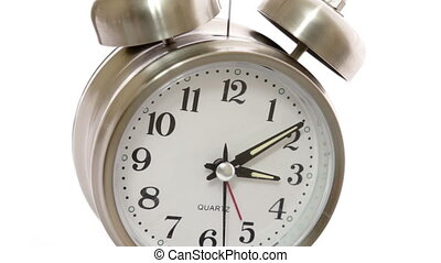 closeup, timelapse, angle, horloge