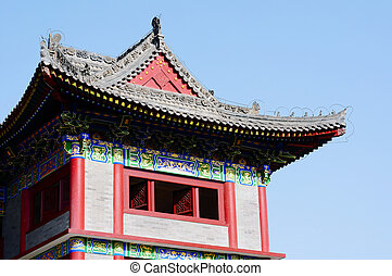 Chinese ancient building