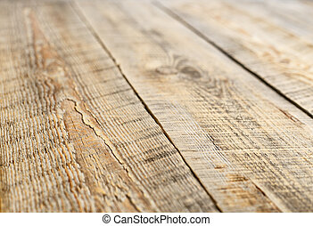 Closeup wooden planks of fence, board background with diagonal lines