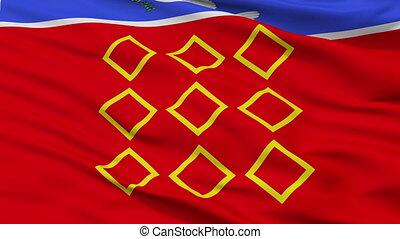 Closeup Zebbug city flag, Malta - Zebbug closeup flag, city...