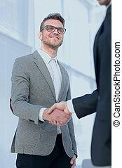 closeup.handshake, business národ