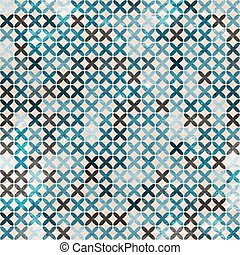cloth blue seamless pattern