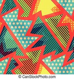cloth bright seamless pattern