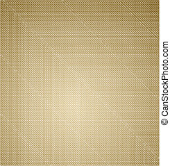 Cloth canvas texture background. Vector