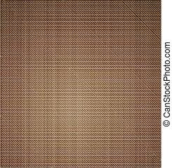 Cloth canvas texture. Vector art illustration background