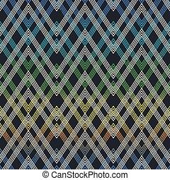 Cloth geometric seamless pattern