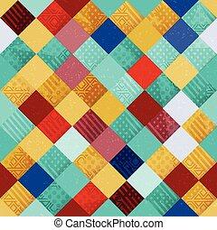Cloth seamless pattern