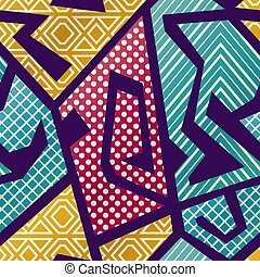 Cloth seamless pattern (vector eps 10)