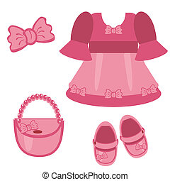 clothes and accessories for girl