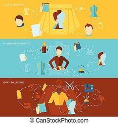Clothes designer flat