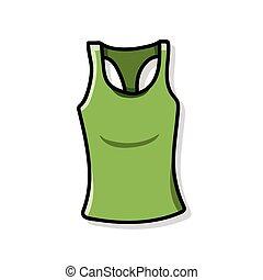 clothes doodle