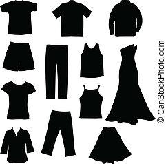 Clothes - vector