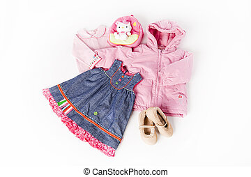 Clothes for little cute girl