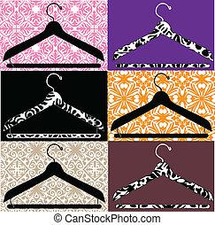 clothes hanger illustration