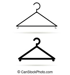 clothes hangers illustration