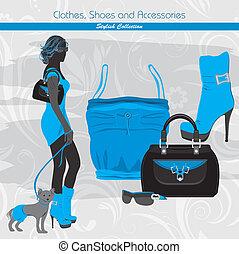 Banner for fashion design