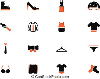 Clothes simply icons