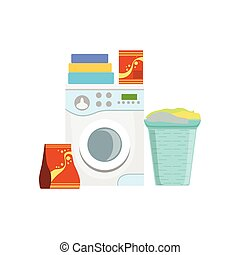 Clothes Washing Household Equipment Set