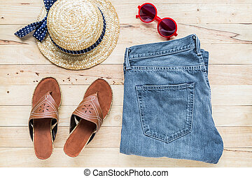 Clothing and accessories for womens.