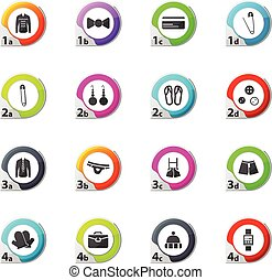 Clothing Store Icons set - Clothing Store web icons for user...